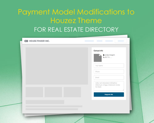 Payment Model Modifications to Houzez Theme for Real Estate Directory
