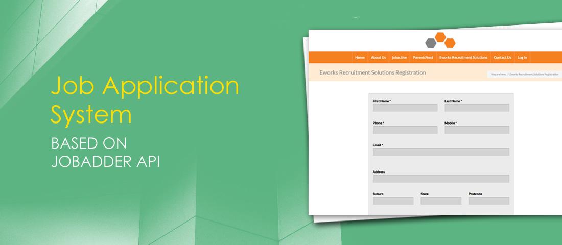 Job Application System based on JobAdder API - 79mplus