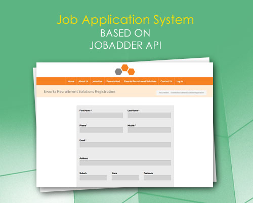 Job Application System based on JobAdder API