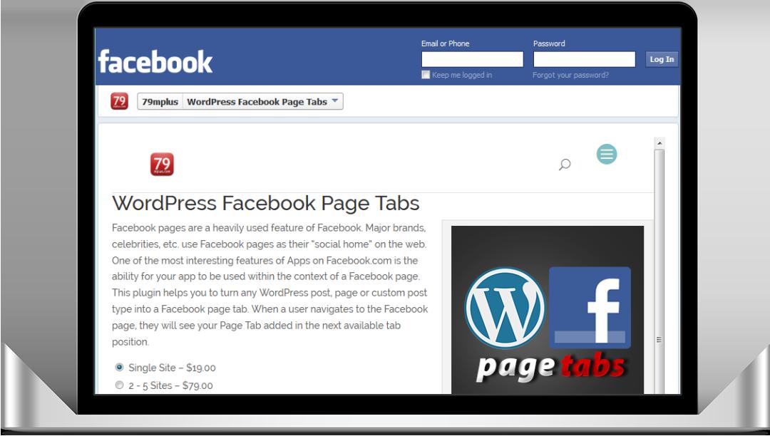 WordPress Facebook Page Tabs